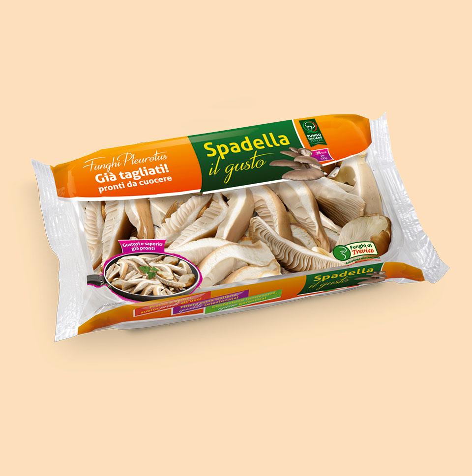 Pack funghi pleurotus Spadella il gusto